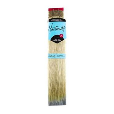 Hairtensity Weft Full Head Synthetic Hair Extension 18 Inch - Natural Blonde