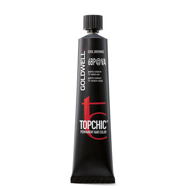 Goldwell Topchic Permanent Hair Colour - Base Shade 6N@AV  60ml