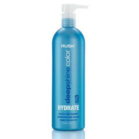 Rusk Deep Shine Hydrate Sulfate Free Shampoo 739ml