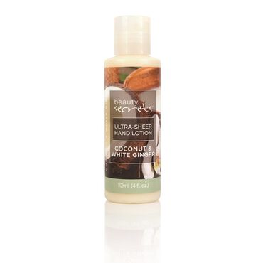 Beauty Secrets Coconut Ginger Hand Lotion 112ml
