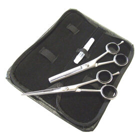 GlamTech E1 Scissor and Thinner Set 14cm