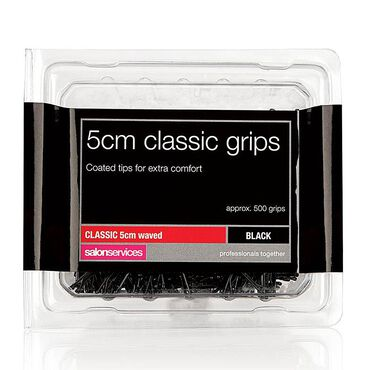 Salon Services Classic Hair Grips 5cm Black pack of 500