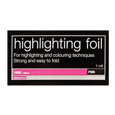 Salon Services Hair Foil Pink 100m