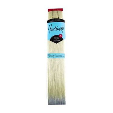 Hairtensity Weft Full Head Synthetic Hair Extension 18 Inch - 613 Platinum Blonde