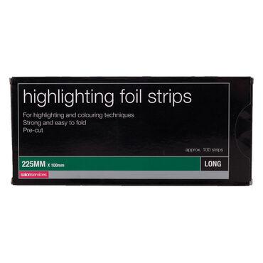 Salon Services Foil Strips Long