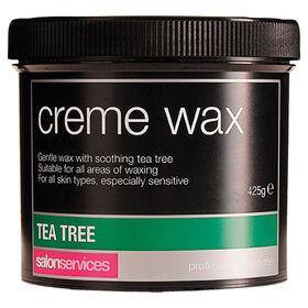 Salon Services Crème Wax Tea Tree 425g