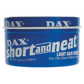 DAX Short and Neat Light Hair Dress Wax 99g