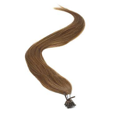 American Pride I-TIP Human Hair Extensions 18 Inch - 3 Dark Brown