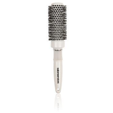 Salon Services Antibacterial Brush White 33mm