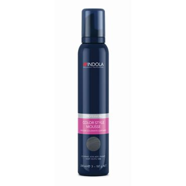 Indola Color Style Mousse - Silver 200ml