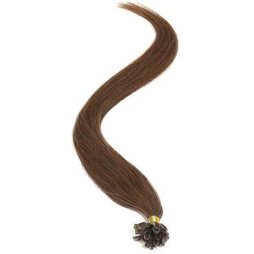 American Pride U-TIP Human Hair Extensions - 3 Dark Brown 18