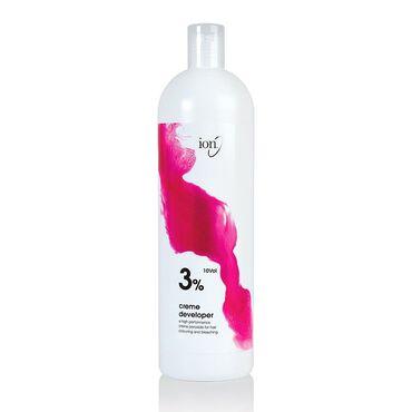 Ion Peroxide Crème Developer 3% 10 Vol 100ml