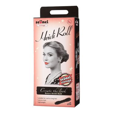 Scunci Vintage Heidi Roll Hair Bands Ties Amp Bun Rolls
