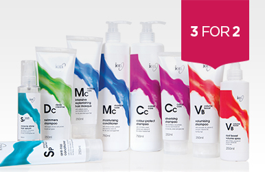 3 for 2 across ION Hair Care & Styling