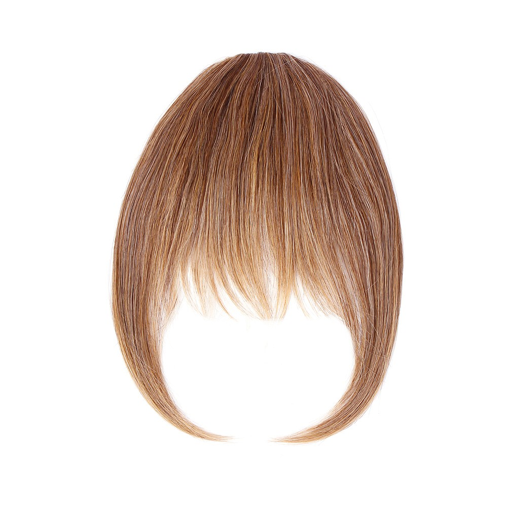 Sally Express hair u wear clip in fringe synthetic hair extension 5 inch - buttered toast
