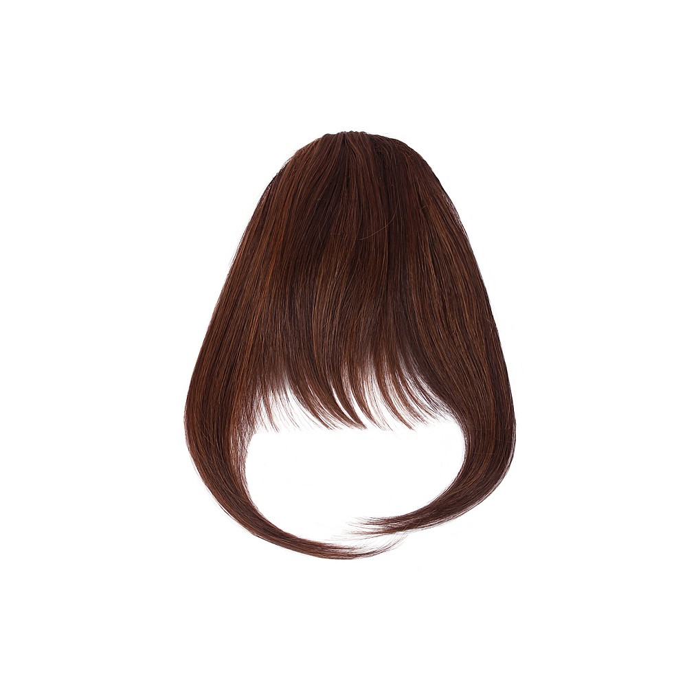 Sally Express hair u wear clip in fringe synthetic hair extension 5 inch - chestnut