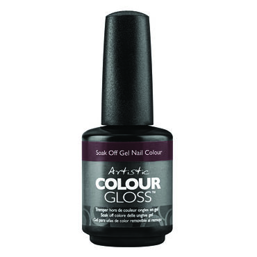 Artistic Caution: Extremely Hot Collection Colour Gloss Gel Polish Just Roll With It 15ml