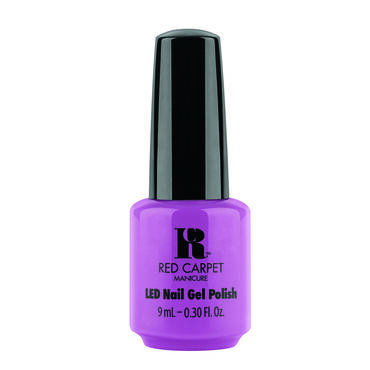 Red Carpet Manicure Gel Polish, Best Buds Neon Purple Crème Purple 9ml
