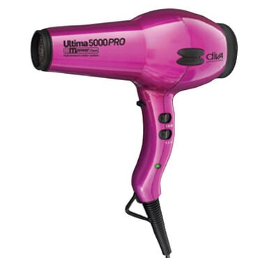 Diva Professional Styling Ultima 5000 PRO Hair Dryer - Hot Pink