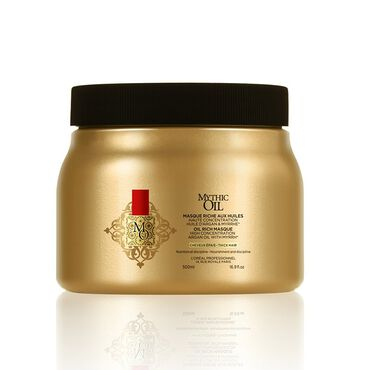 L'Oréal Professionnel Mythic Oil Masque For Thick Hair 500ml