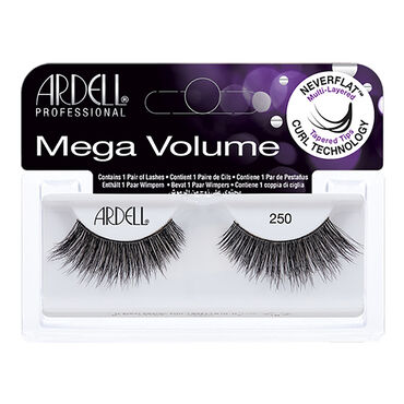 e2da56a5b23 Ardell Mega Volume Strip Lashes 250 Black | Strip Eyelashes | Sally ...