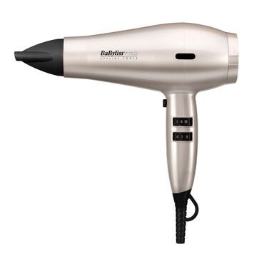 BaByliss PRO BAB6738NU Spectrum Hair Dryer - White Frost