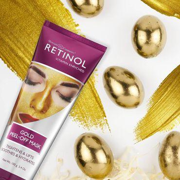 Retinol Gold Peel-Off Face Mask 100g
