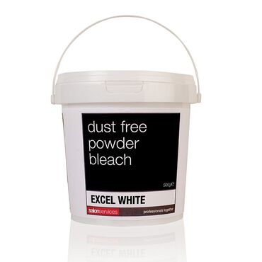 Salon Services Powder Bleach - White 500g