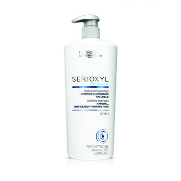 L'Oréal Professionnel Serioxyl Shampoo for Natural Thinning Hair 1L