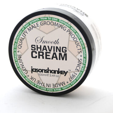 Jason Shankey Smooth Shaving Cream 100ml