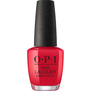 OPI Scotland Collection Nail Lacquer Red Heads Ahead 15ml