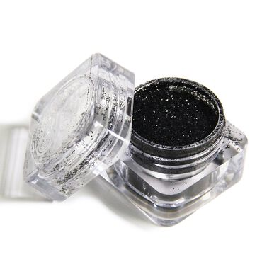 Color Club Nail Art Glitter - Black Matter 3g