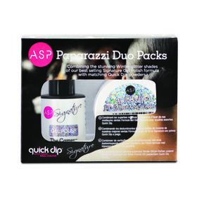 ASP Signature & Quick Dip Paparazzi Collection Duo Pack The Camera Never Lies 14ml & 14g