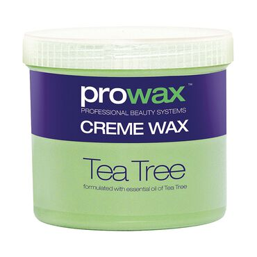 Pro Wax Tea Tree Crème Wax