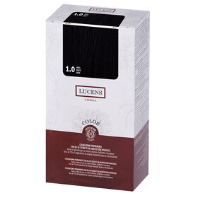 Lucens Permanent Hair Colour Kit 1.0 Black