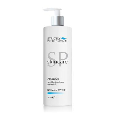 Strictly Professional Normal/Dry Skin Cleanser 500ml