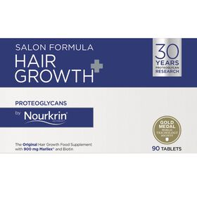 Nourkrin Salon Formula Hair Growth+ Hair Loss Supplement - 90 Tablets