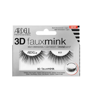Ardell 3D Faux Mink Strip Lashes 853