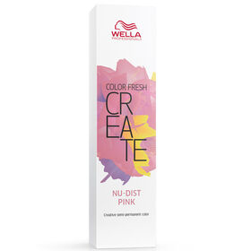 Wella Professionals Color Fresh Create Semi Permanent Hair Colour - Nudist Pink 60ml