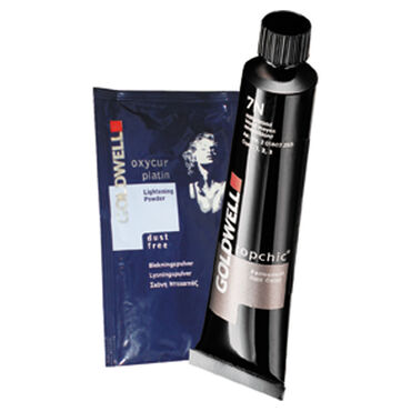 Goldwell Topchic Permanent Hair Colour - 4R Dark Mahogany Brilliant 60ml