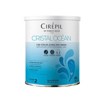 Perron Rigot Cirépil Cristal Océan Wax with strips 800g