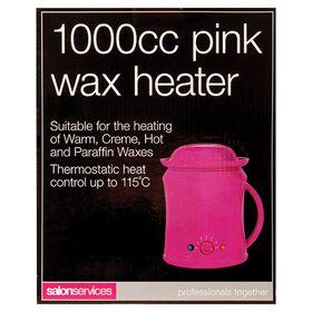 Salon Services Wax Heater Pink 1000cc