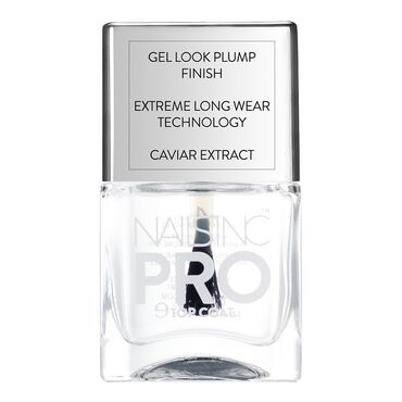 Nails Inc Pro Top Coat with Caviar 14ml | Nail Polish Top & Base ...