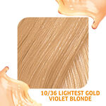 Wella Professionals Colour Fresh Semi Permanent Hair Colour - 10/36 Lightest Gold Violet Blonde 75ml