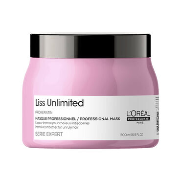 L'Oréal Professionnel Serie Expert Liss Unlimited Professional Smoothing Mask 500ml