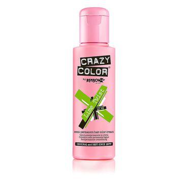Crazy Color Semi Permanent Hair Colour Cream - Lime Twist 100ml