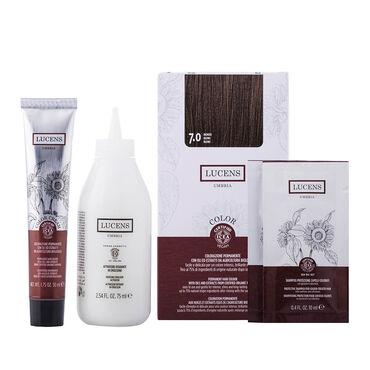 Lucens Permanent Hair Colour Kit 5.3 Chocolate