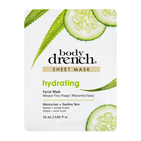 Body Drench Hydrating Sheet Facial Mask 25 ml