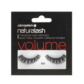 Salon System Naturalash Strip Lashes Volume 107