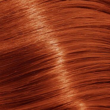 Lomé Paris Permanent Hair Colour Crème, Reflex 7.40 Blonde Copper Intense 100ml